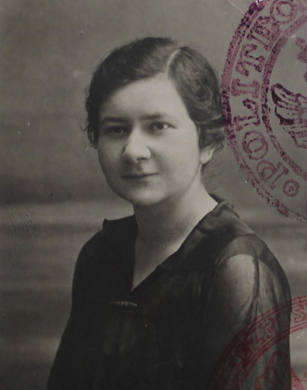 Aniela Oberfeld (source: State Archive in Płock, Poviat Office in Płock, sign. 28), JewishPlock.eu