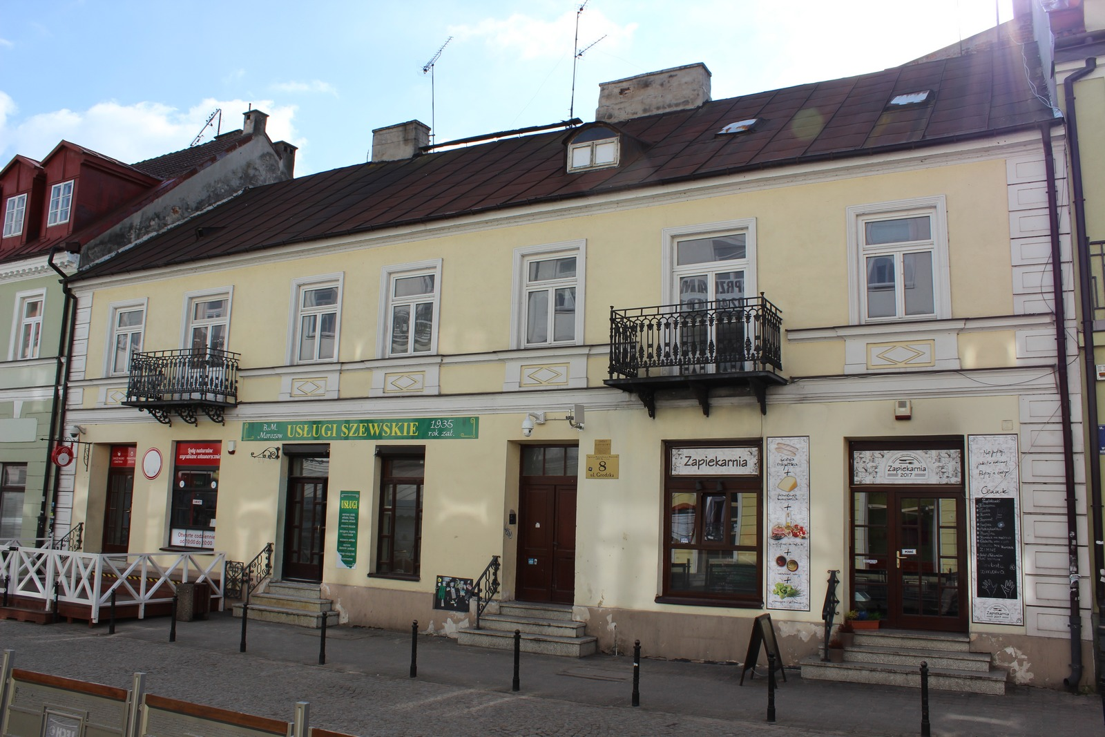 The history of the property at 8 Grodzka Street in Płock