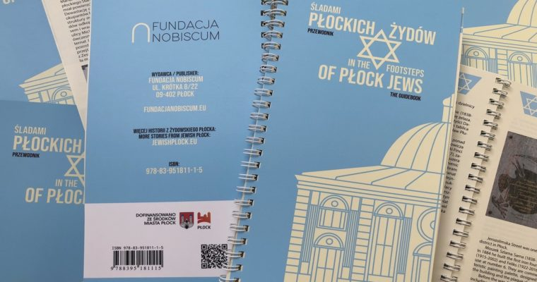 "The guidebook ""In the footsteps of Płock Jews"" is available now!"