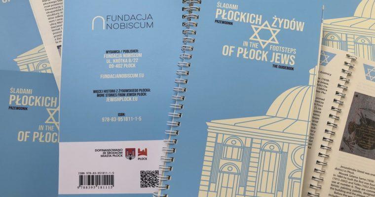 """Przewodnik """"Śladami płockich Żydów"""" już dostępny!"""