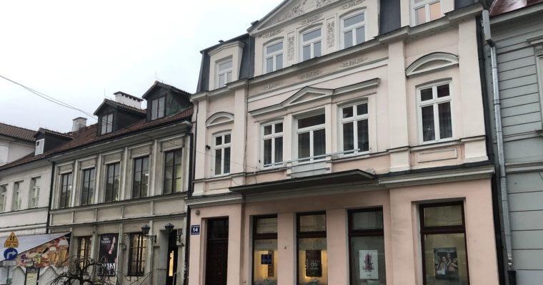 14 & 16 Grodzka Street. The Kempner bookshop