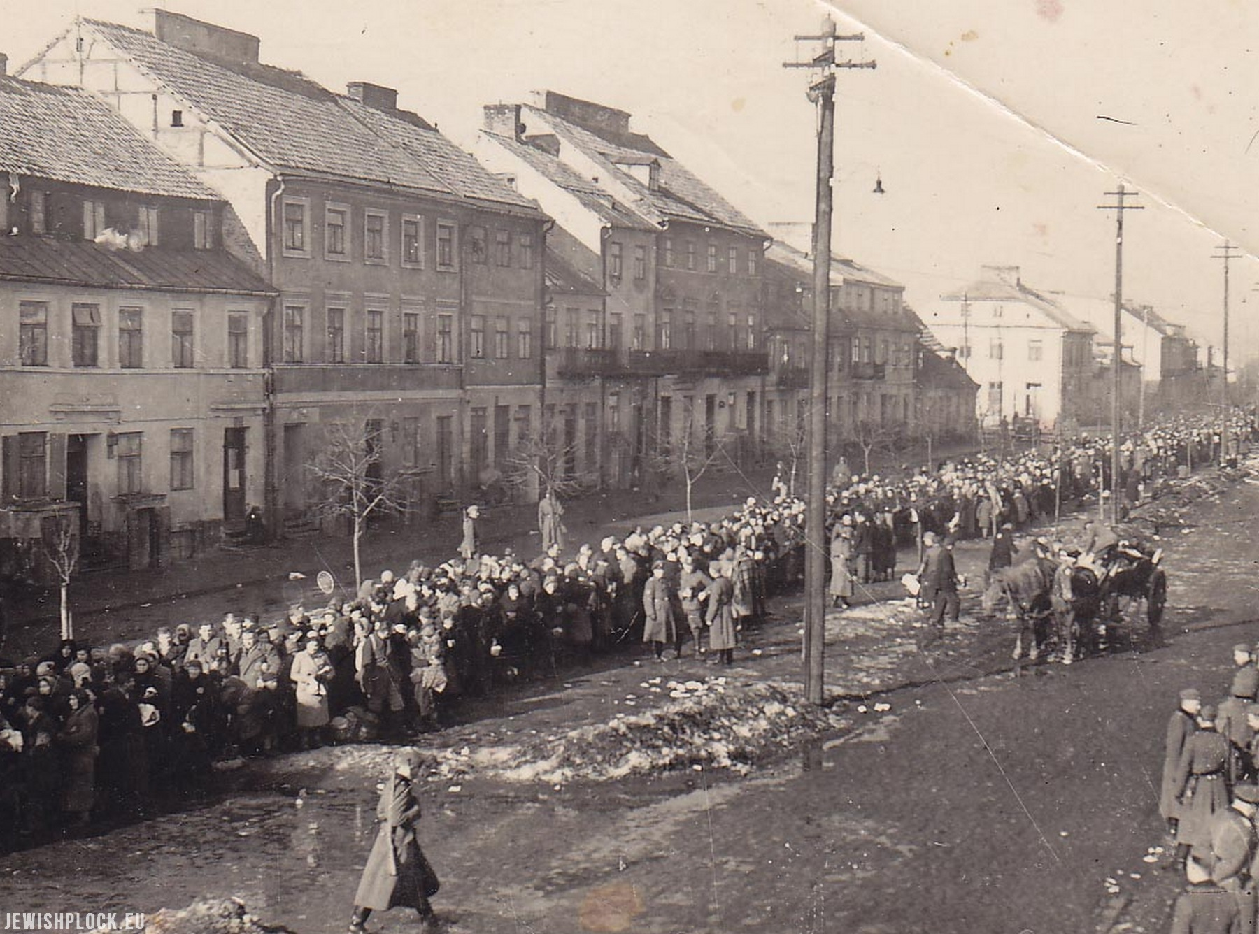 The 79th anniversary of the liquidation of the ghetto in Płock