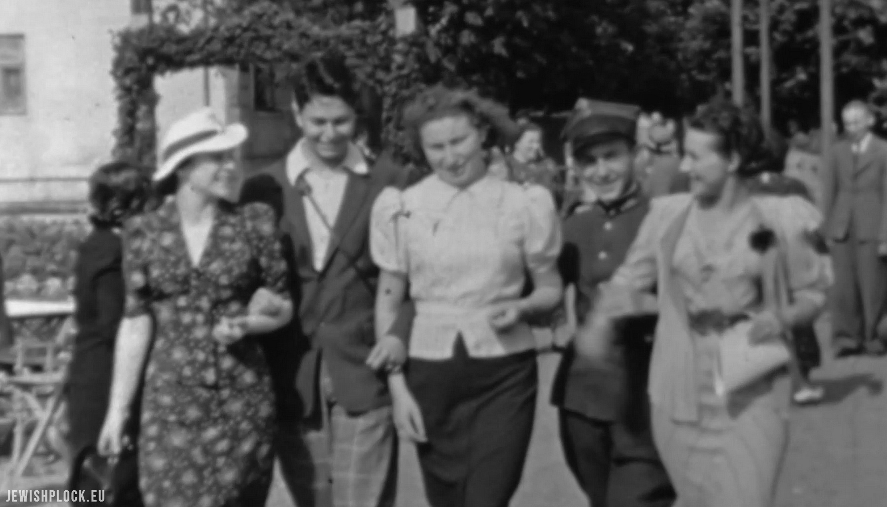 "Film from 1937 and over 6200 people identified as part of the ""Remembrance. Płock 1939"" research project"