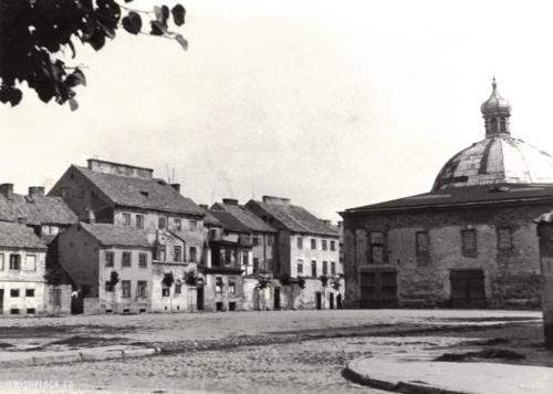 Wielka Synagoga (fotografia pochodzi ze zbiorów Żydowskiego Instytutu Historycznego im. E. Ringelbluma w Warszawie)