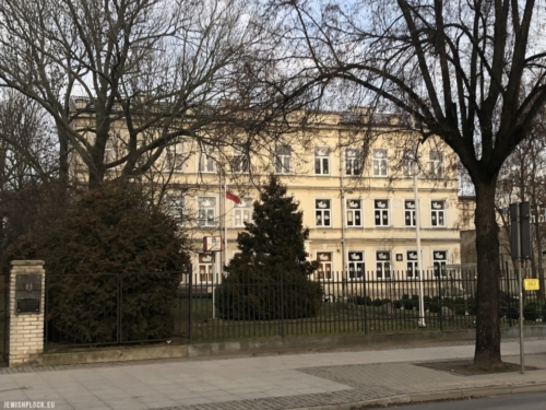 The building at Sienkiewicza Street in Płock (the Altberg family house), currently the seat of the Private Upper Secondary Art School in Płock (photo by Piotr Dąbrowski)