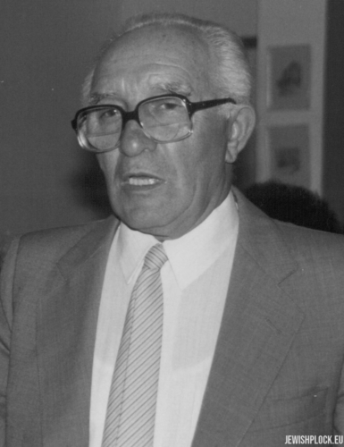 Izrael Abram (Julius) Bomzon, Manof, Israel, April 1985
