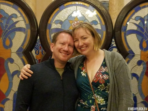 Evan and his wife Flannery Amdahl, in Havana, Cuba, January 2019