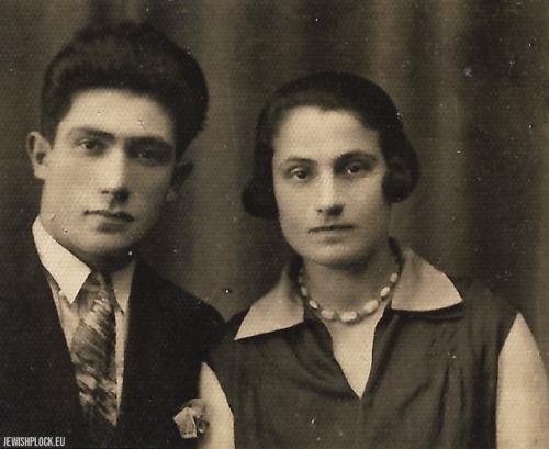 Chana Krasiewicz i Mejer (Max) Celner