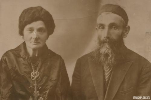 Lewek Krasiewicz i Rechma z domu Kutmacher