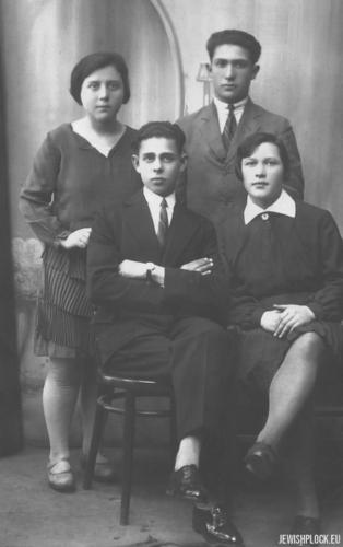 Rodzeństwo Krasiewicz (dzieci Lewka i Rechmy Krasiewiczów)