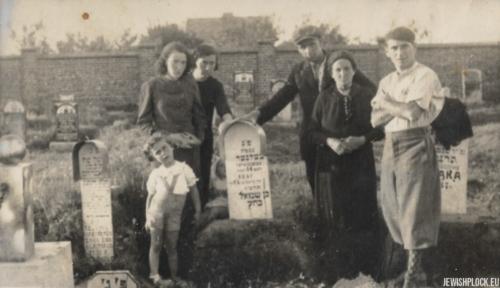 Grób Nachmana Celnera, syna Szmula, 1937 rok