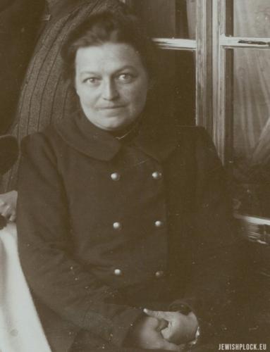Estera Golde-Stróżecka, źródło: Polona