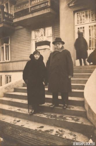 Ewa Żurkowska i Izydor Wajcman, lata 30. XX wieku