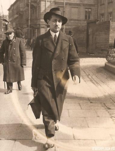 Józef Wajcman, Warszawa 1935 rok