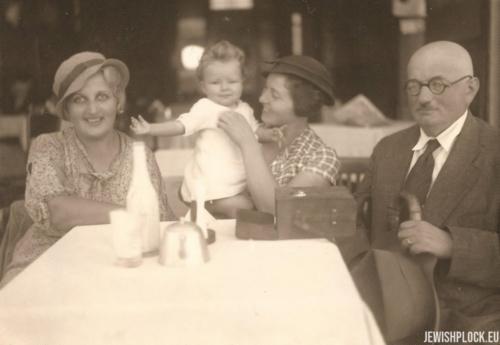 Lusia, Joasia, Izydor Wajcman, 1938 rok
