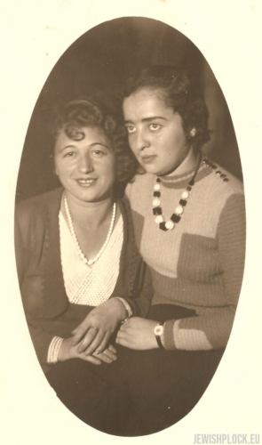 Estera and Lusia Wajcman, 1930s