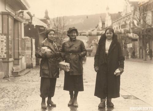 Estera i Lusia Wajcman, Zakopane 1933 rok