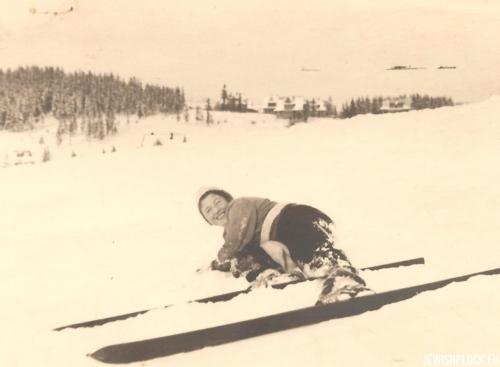 Lusia Wajcman, Zakopane 1933 rok