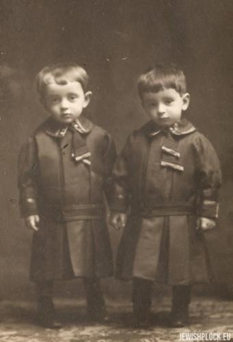 Estera i Marek Wajcman, około 1909 roku