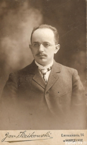 Izydor Wajcman, beginning of the 20th century
