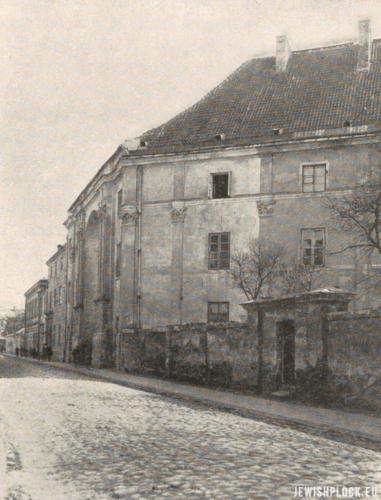 Budynek gimnazjum gubernialnego w Płocku, obecnie Liceum Ogólnokształcące im. St. Małachowskiego