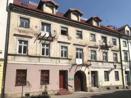 Kamienica przy ulicy Grodzkiej 11 w Płocku (fot. P. Dąbrowski)