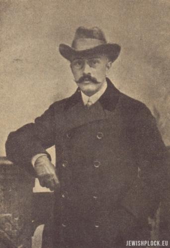 Józef Kwiatek (źródło: J. Krzesławski, Józef Kwiatek (1874-1910), Warszawa 1935)