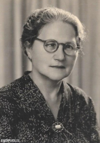 Liba Raca (z domu Koryto) z Argentyny podczas jej wizyty w Izraelu pod koniec lat 50tych XX wieku.