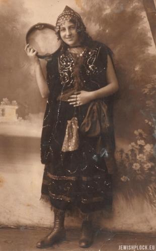 Roza Okolica, córka Henocha i Cypry Hindy ze Szmigów