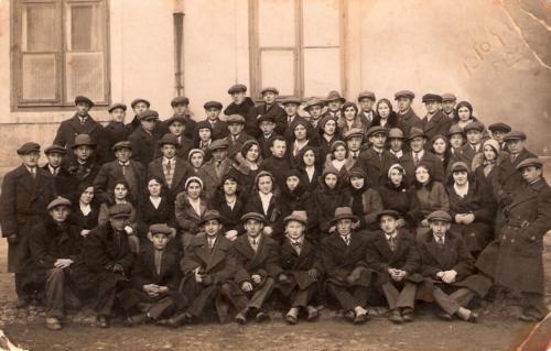 Członkowie organizacji Frajhajt w Płocku, 1932 r.