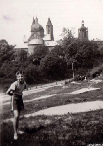 Kuba Guterman, Płock, ok. 1948 roku