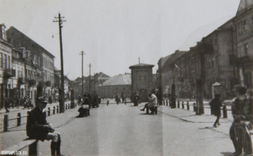Kwiatka Street before 1939 (photo from the private collection of Sandra Brygart Rodriguez)