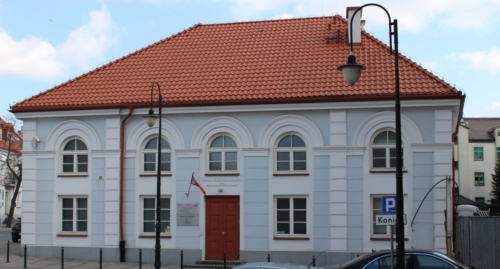 The building of the former synagogue – now the seat of the Museum of Mazovian Jews in Płock (photo by P. Dąbrowski)