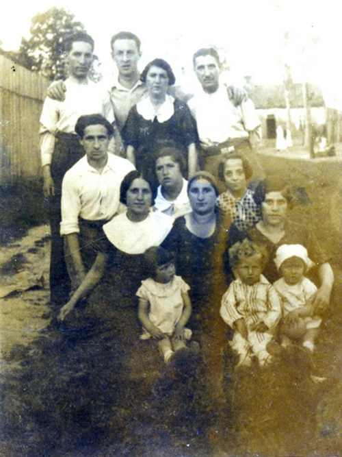 Mordka Nelkin (first from the left in the second row)