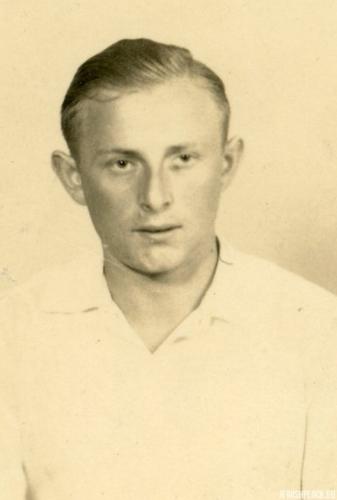 Jack (Icek) Nierób (fotografia wykonana po zakończeniu II wojny światowej)