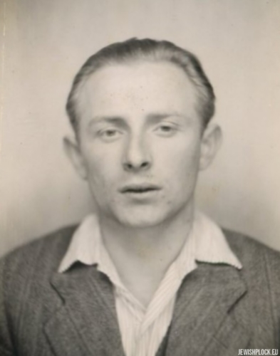Jack (Icek) Nierób (photo taken after the end of World War II)
