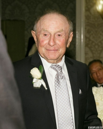 Jack (Icek) Nierób (fotografia wykonana podczas uroczystości z okazji 90. urodzin Jacka)