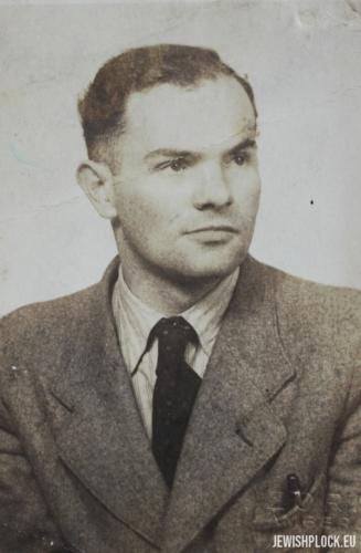 Moszek (?), Płock, 1945 rok