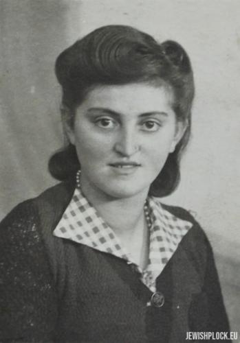 Fela (?), Płock, 1945 rok