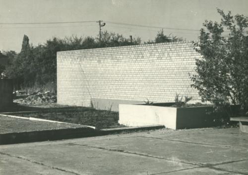 Cmentarz żydowski przy ul. Mickiewicza w Płocku (ze zbiorów Lucjana Kota)
