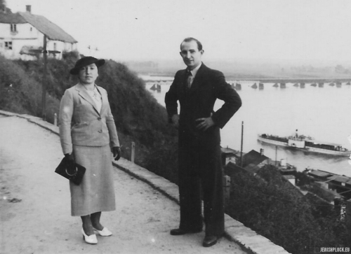 Chana Rachela i Motel Perelgryc, Płock, lata 30. XX wieku