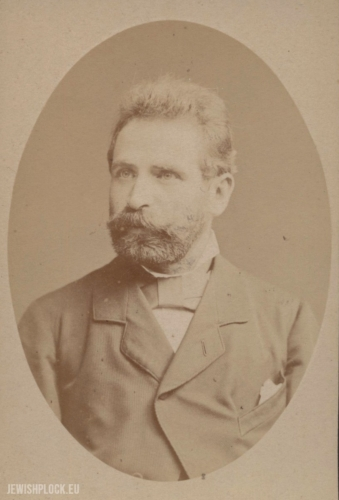 Zygmunt Perkahl (źródło: G. Nowak, Żydzi płoccy. Album pamięci, Płock 2015; oryginał w zbiorach Biblioteki Towarzystwa Naukowego Płockiego)