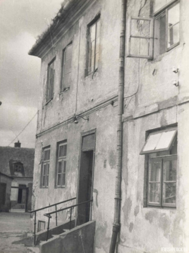 The Jewish Home for the Elderly and Disabled (photo from the private collection of Jakub Guterman)