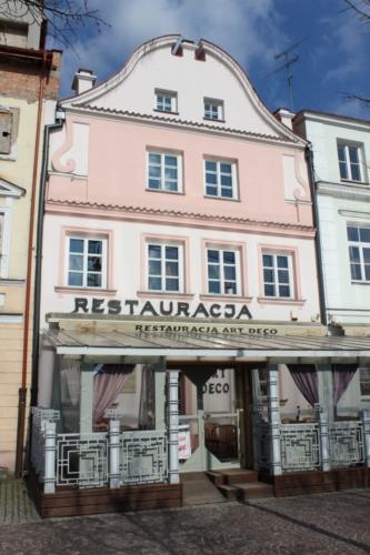 Stary Rynek 17 w Płocku (fot. P. Dąbrowski)