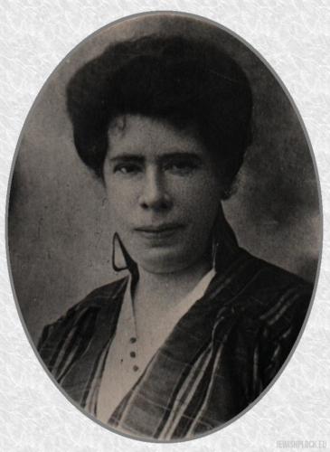 Helena Szereszewska z domu Frommer, żona Abrama Chaima Szeraszewa (Szereszewskiego)