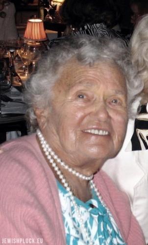 Zofia Pakuła, fotografia z archiwum rodzinnego dzięki uprzejmości Andrew Pakuły