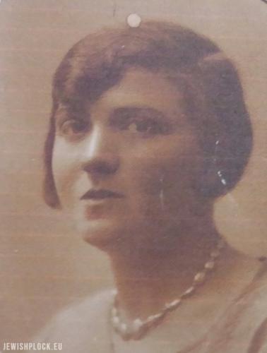 Pesia Jochewet Nisson z domu Zylber